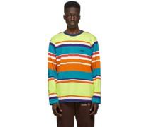 Engineered Stripe Longsleeve Tshirt