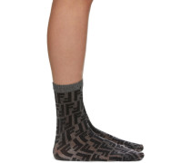 Short Lurex Socke