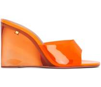 Glass Lupita Wedge Heeled Sandale