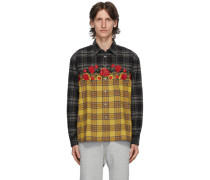 Flannel Embroidered Shirt
