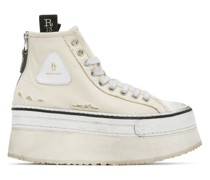 Platform High-Top Sneaker