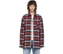 & Flannel Patch Hemd