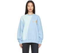 Two-Tone Split City Sweatshirt