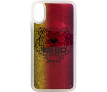 Glitter Tiger Head iPhonecase
