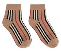Intarsia Icon Stripe Socke
