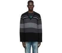 Stripe V-Pullover