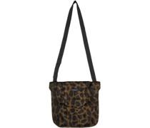 Velvet Leopard Tote