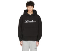 Loveless Embroidered Hoodie