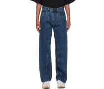 Classic Front Panel Jeans