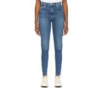 High-Rise Chrissy Jeans