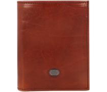 Lorenzo Geldbörse RFID Leder 9, marrone