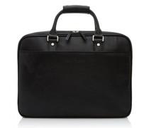 Verona Aktentasche RFID Leder Laptopfach black