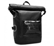 Especial Shelter Roll Top Rucksack Laptopfach jet black