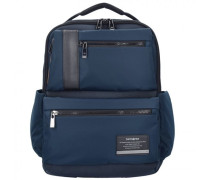 Openroad Business Rucksack Leder Laptopfach space blue