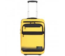 Cityvibe 2.0 2-Rollen Kabinentrolley Laptopfach golden yellow
