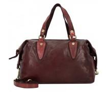 Handtasche Leder vinaccia