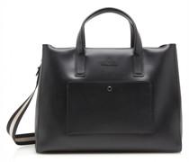 Dama Sofie Handtasche RFID Leder Laptopfach black