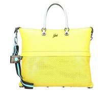 G3 Plus Handtasche Leder lemon