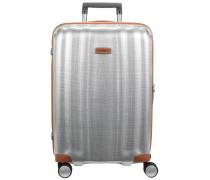 Lite Cube DLX Spinner 4-Rollen Trolley aluminiumfarben