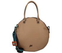 Ground Handtasche Leder nocciola