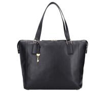 Jacqueline Shopper Tasche Leder black