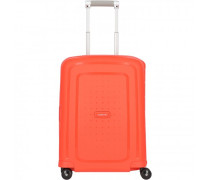 S'Cure Spinner 4-Rollen Kabinentrolley fluo red capri