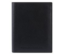 Business Geldbörse Leder black