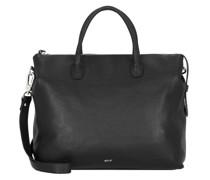 Gunda Handtasche Leder black/nickel