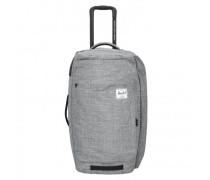 Wheelie 2-Rollen Reisetasche raven crosshatch
