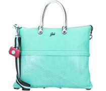 G3 Plus Handtasche Leder malachite
