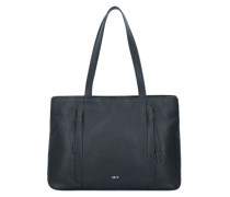Adria Shopper Tasche Leder black/nickel