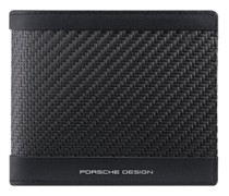 Carbon Geldbörse RFID Leder black