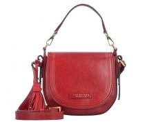 Pearldistrict Handtasche Leder red currant