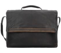 Camden Aktentasche Leder Laptopfach dark brown