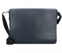 Vetra Messenger Leder Laptopfach black