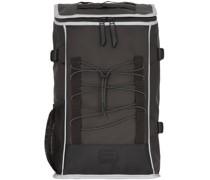 Mountaineer Bag Rucksack Laptopfach black reflective