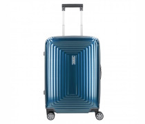 Neopulse Slim Spinner 4-Rollen Kabinentrolley metallic blue