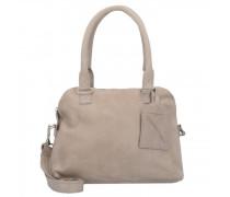 Bag Carfin Schultertasche Leder elephantgrey