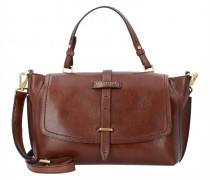 Florentin Handtasche Leder brown gold
