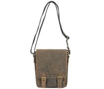 Vintage Umhängetasche Leder brown