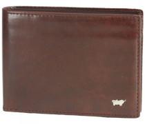 Country Geldbörse Leder 12, palisandro