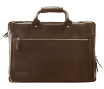 270er Serie Aktentasche Leder Laptopfach cognac