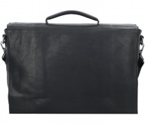 Coleman 2.0 Aktentasche Leder Laptopfach black