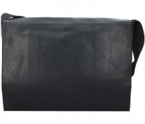 Coleman 2.0 Messenger Leder Laptopfach black