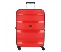 Bon Air DLX 4-Rollen Trolley magma-red