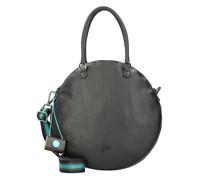 Ground Handtasche Leder black