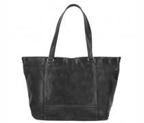 Lugano Shopper Leder black