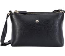 Capri Umhängetasche RFID Leder black