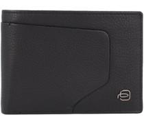 Akron Geldbörse RFID Leder black