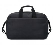 Workbag Aktentasche Leder Laptopfach charcoal black